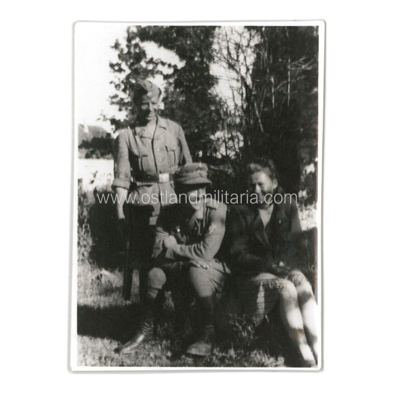 Latvian auxiliary police members photos Germany 1933–1945