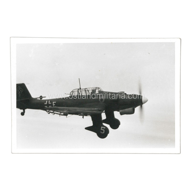 Photo of a dive bomber Junkers Ju 87 of St.G.77