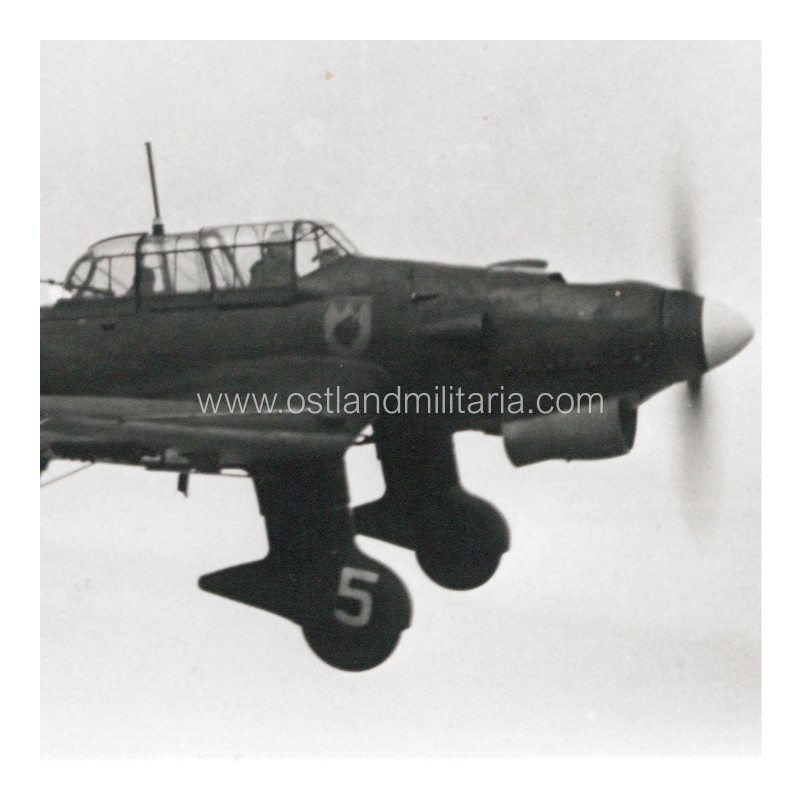 Photo of a dive bomber Junkers Ju 87 of St.G.77 Germany 1933–1945
