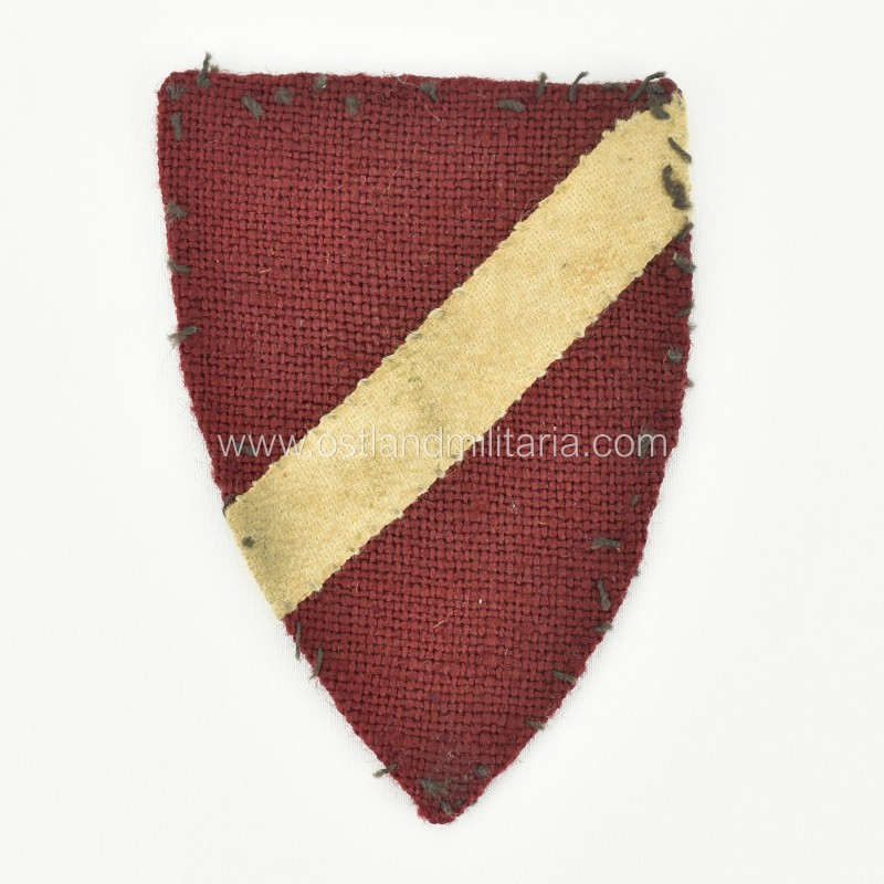 Early type Latvian volunteer sleeve shield