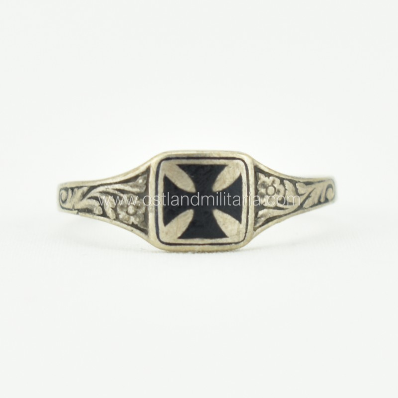 WWI Iron Cross ring Germany