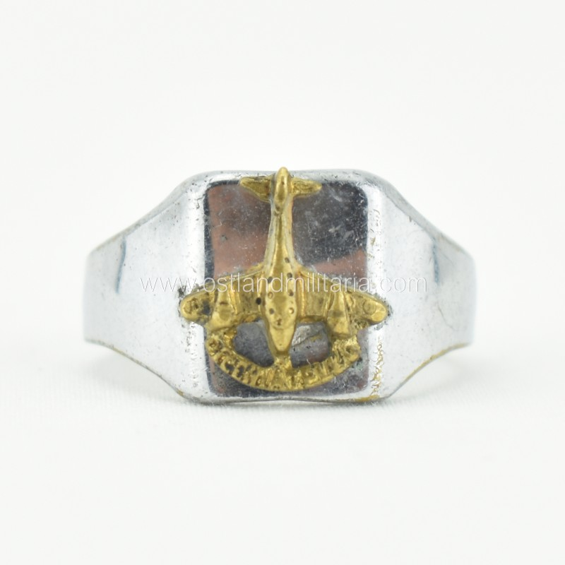 Italian made ring for Stuka Italian pilots, 1937–1...