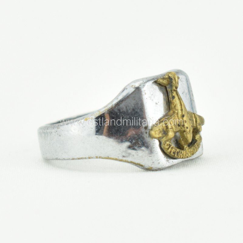 Italian made ring for Stuka Italian pilots, 1937–1943