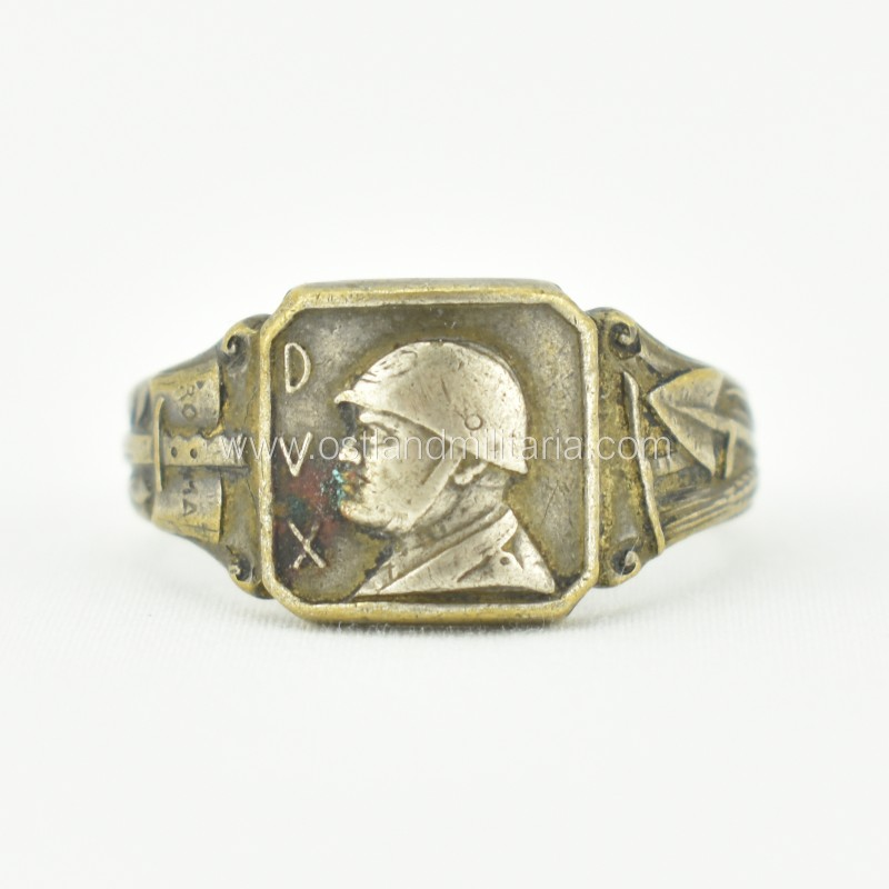 Italian ring with B. Mussolini, DVX, 1933–1943 Other countries