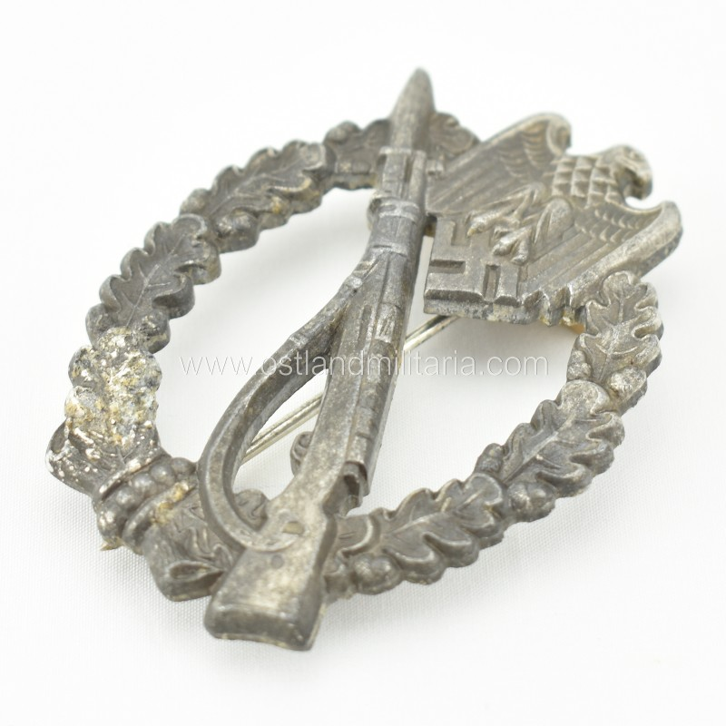 Infantry assault badge in silver by GWL Germany 1933–1945