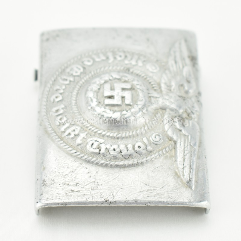 Aluminum Waffen-SS belt buckle RZM 822/37 SS Germany 1933–1945