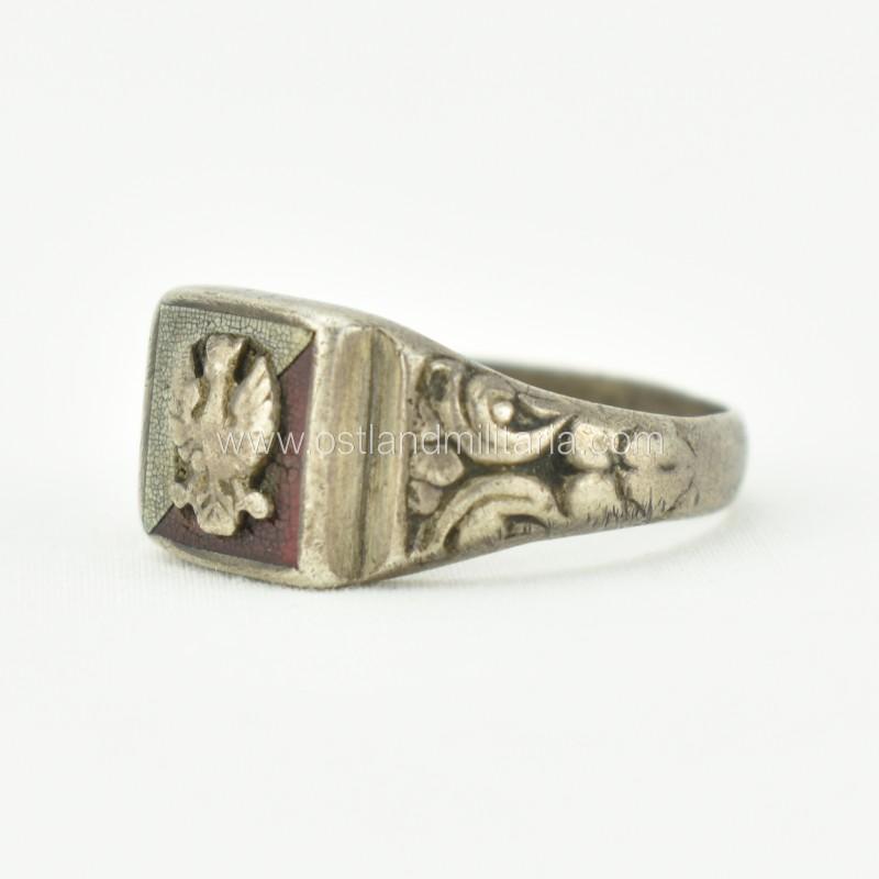 Polish patriotic ring. 1918–1945