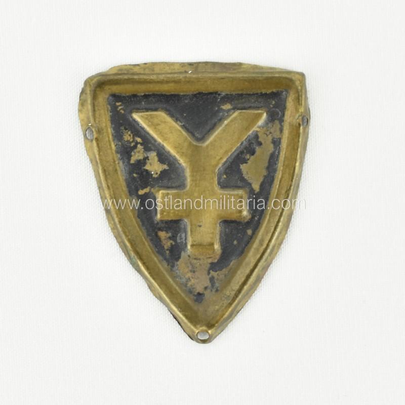 16. Panzer-Division cap badge