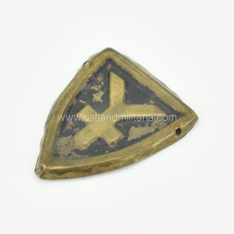 16. Panzer-Division cap badge  Germany 1933–1945