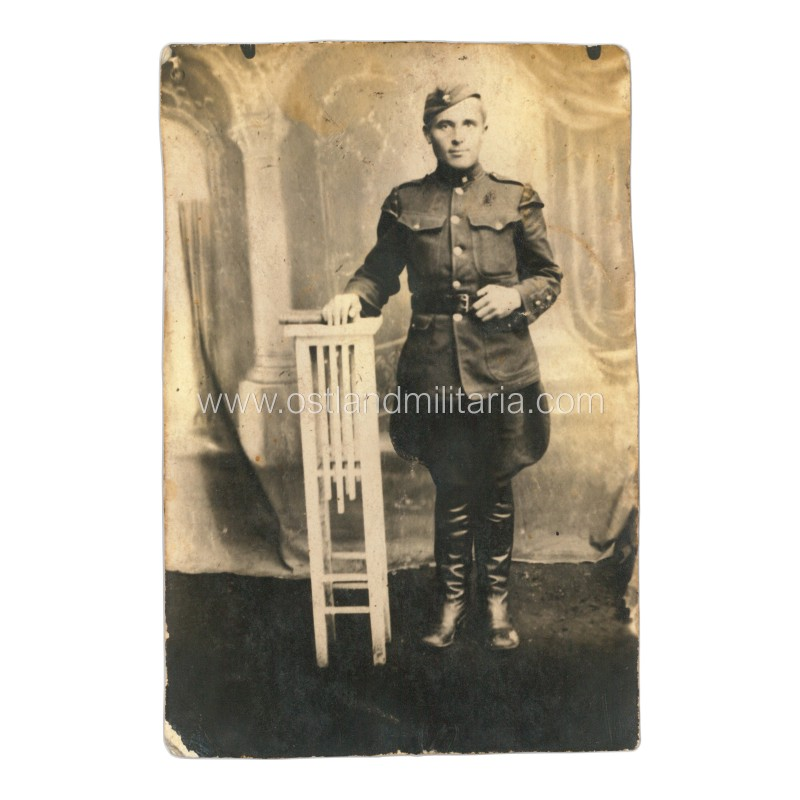Lithuanian army. Military musician photo. 1925 Lithuania