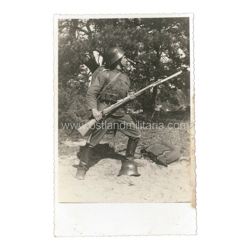 Lithuanian army. Junior NCO photo. 1933  Lithuania