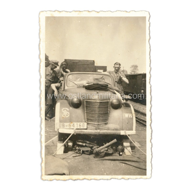 100. Jäger-Division automobilis, nuotrauka Vokietija 1933–1945 m.