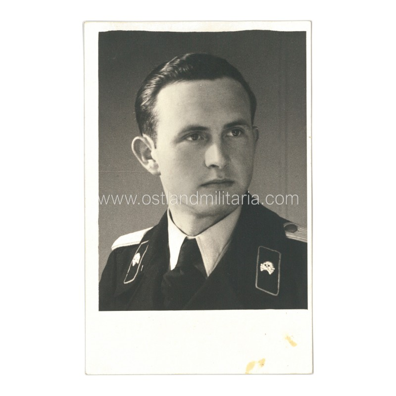 Panzertruppe Leutnant portrait photo Germany 1933–1945