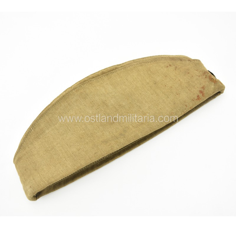 Red Army side cap with field camouflage star