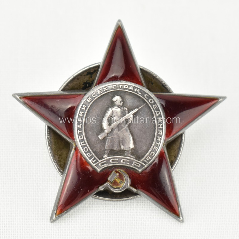 Order of the Red Star to reconnaissance NCO. 1944