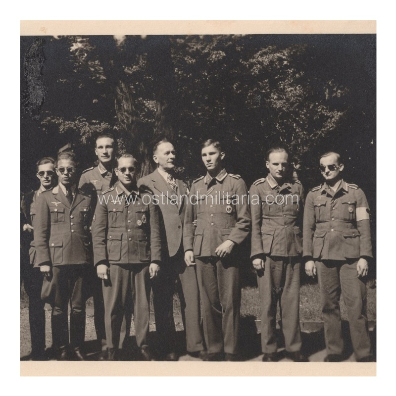 Group photo of war-wounded Germany 1933–1945