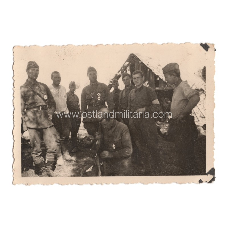 Group photo of Abwehr saboteurs, very rare Germany 1933–1945