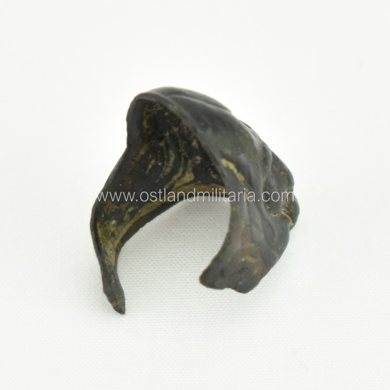Ring with the witch's face, Russian Empire (broken) Russia
