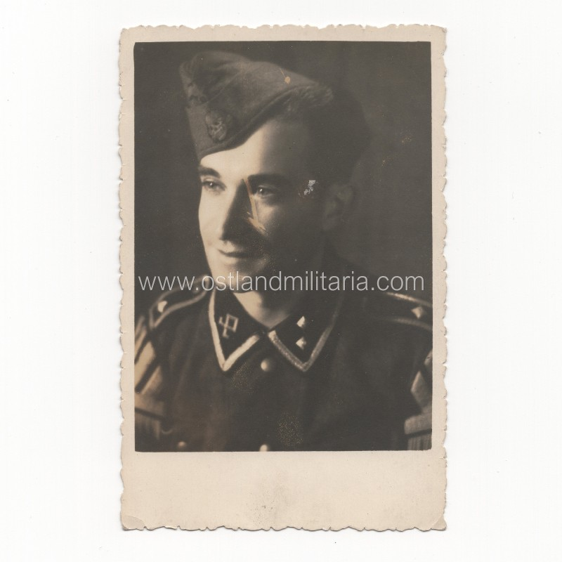 """Prinz Eugen"" SS-Oberscharführer, musician portrait photo Germany 1933–1945"