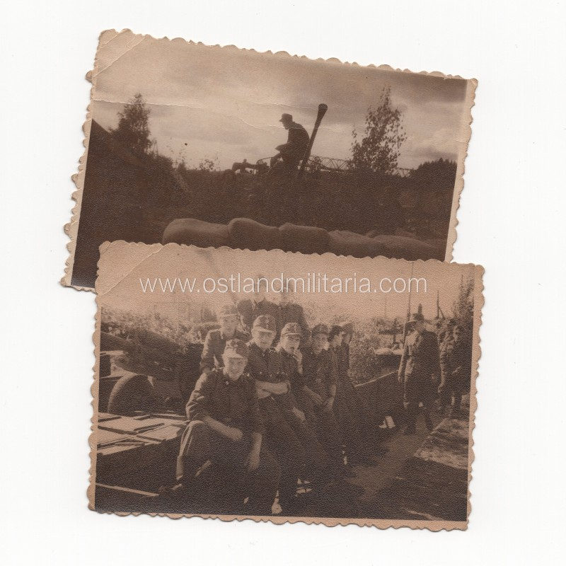 Dvi latvių SS legionierių nuotraukos Vokietija 1933–1945 m.