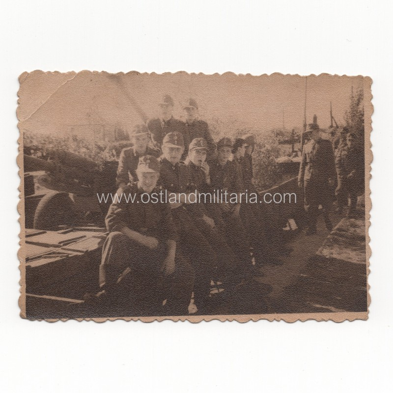 Set of Latvian SS Legionnaires photos Germany 1933–1945