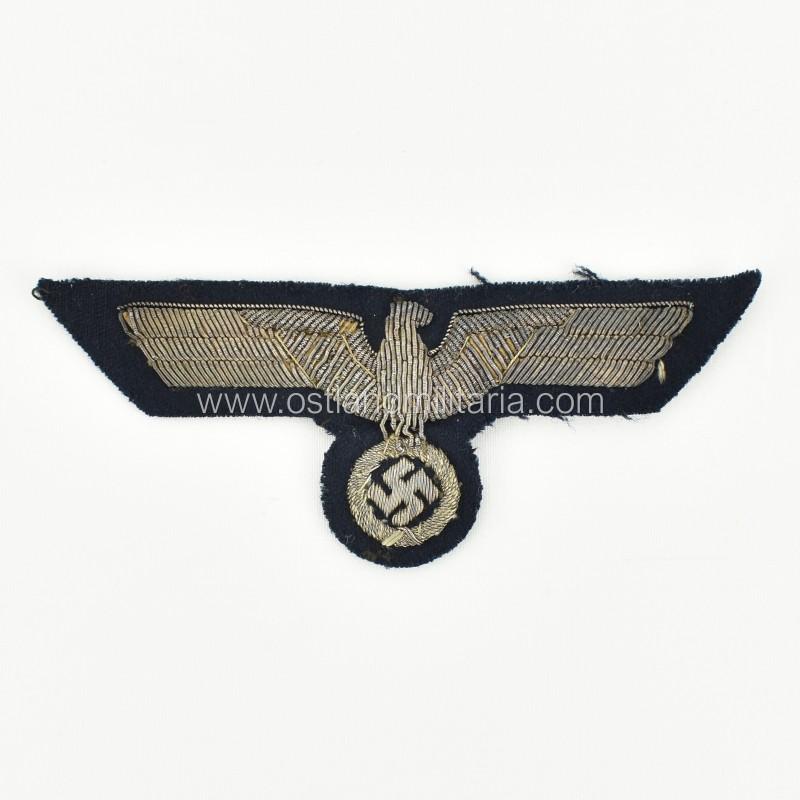 KM Administration Officer's bullion breast eagle Germany 1933–1945