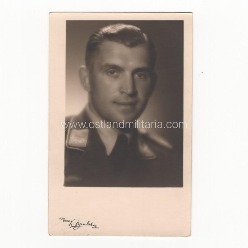Photo of LW Leutnant, Kaunas, LT Germany 1933–1945
