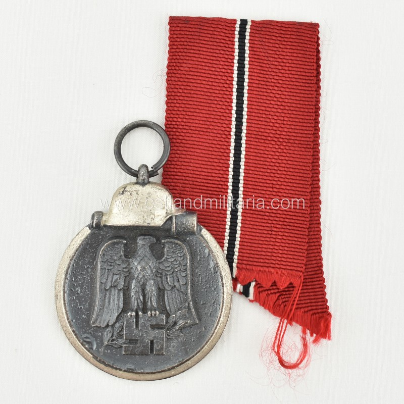 Eastern Front Medal with issue packet, double marked '25' Germany 1933–1945