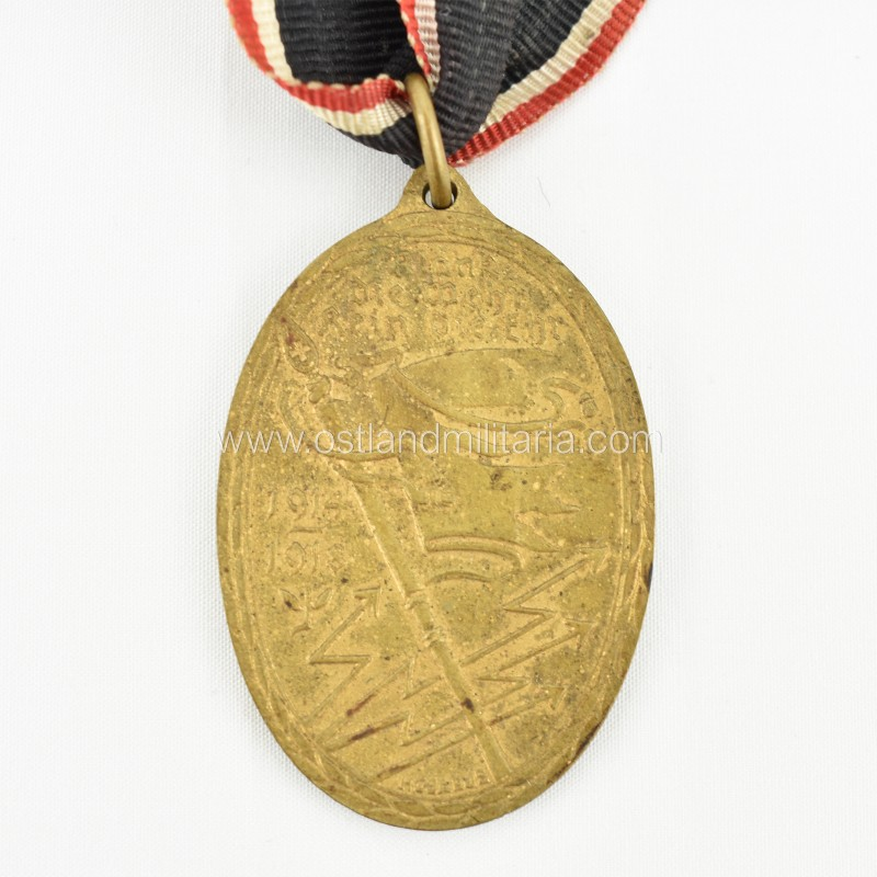 War Commemorative Medal 1914/1918 of the Kyffhäuser Union Germany