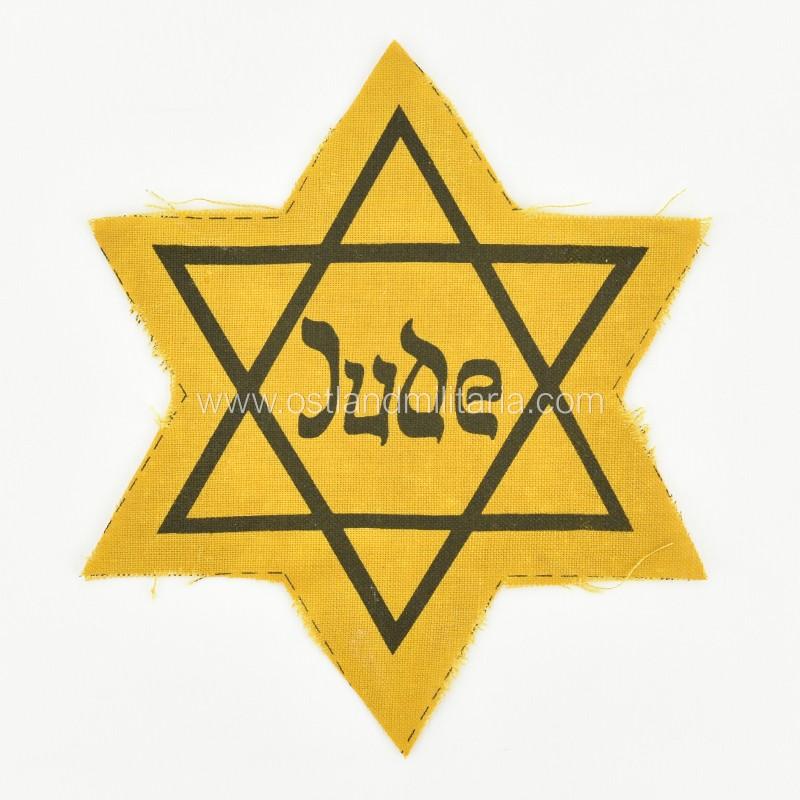 Geltonoji žvaigždė (Judenstern) Vokietija 1933–1945 m.