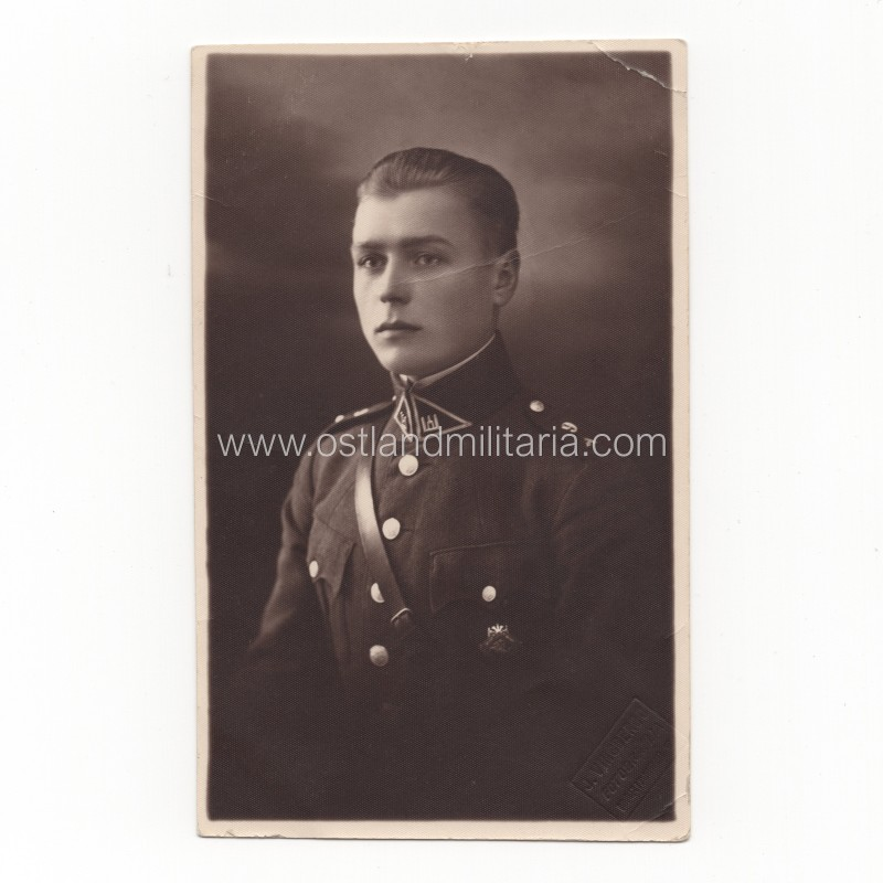 Lithuanian army junior lieutenant photo, 1929 Lithuania