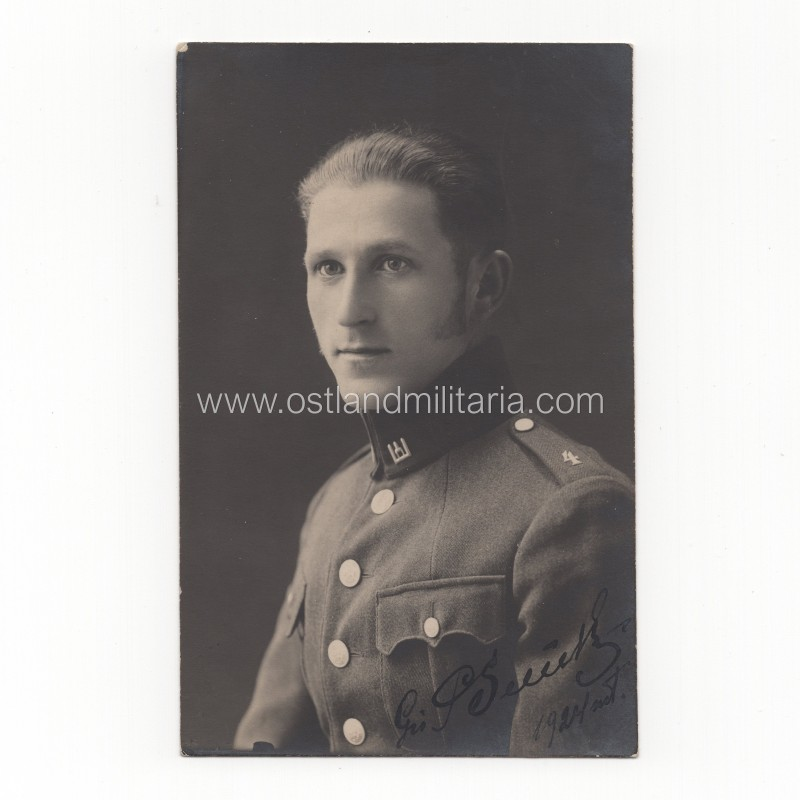 Photo of Lithuanian army Private, Pole, 1924 Lithuania
