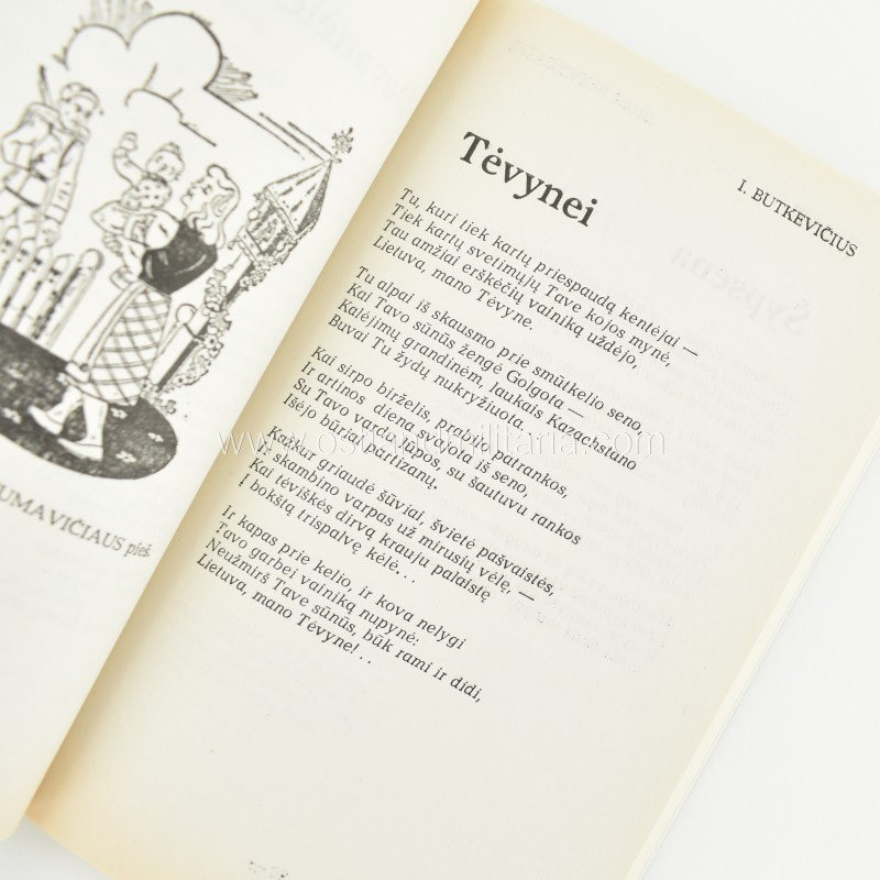 A. Martinionis, Apkasų poezija Books