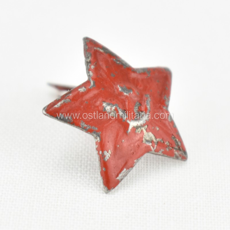 Red Star cockade for Red Army side cap Russia