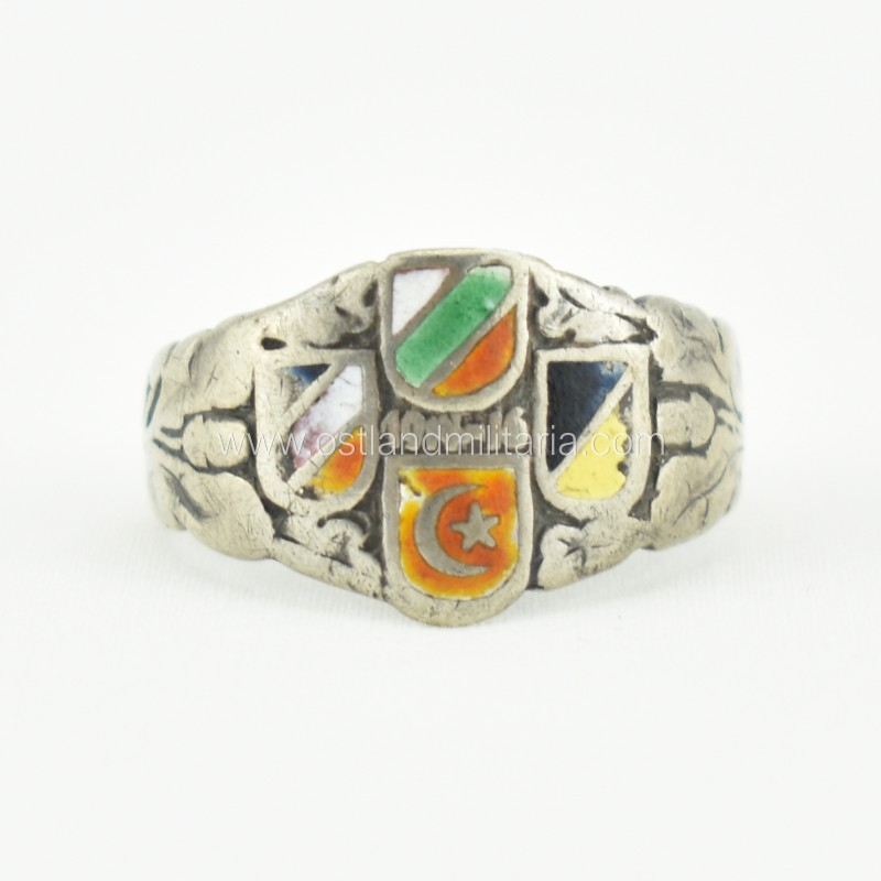 Central Powers of WWI ring, 1914-16 Germany