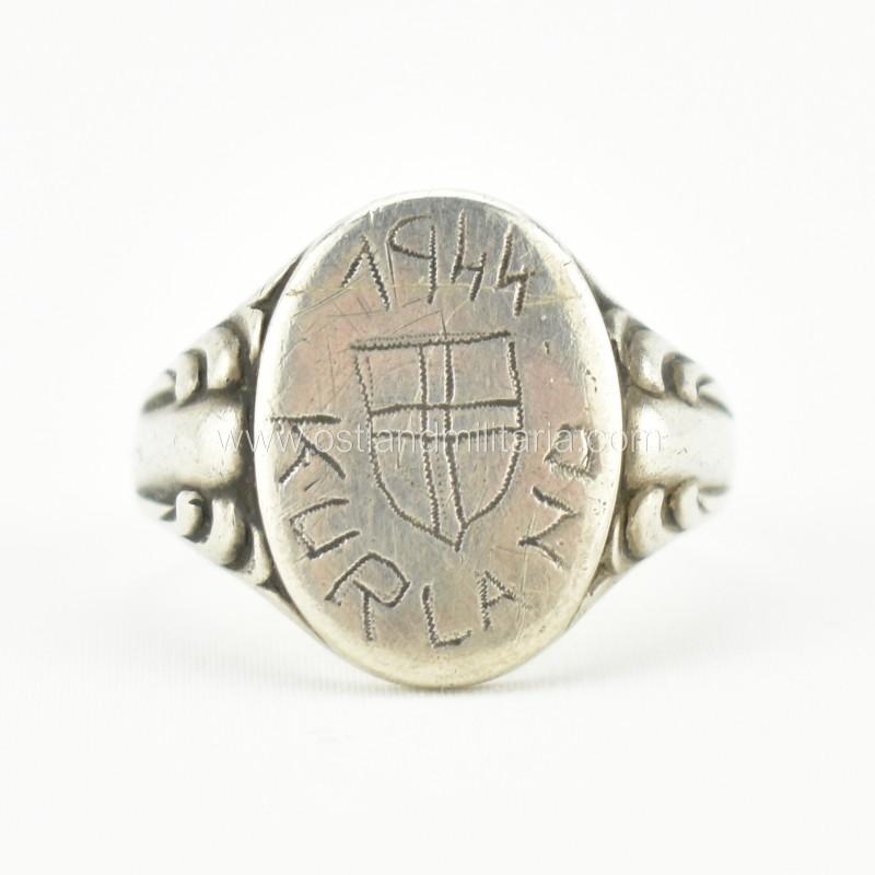 """Vokiškas žiedas """"Kurland 1944"""" Vokietija 1933–1945 m."""