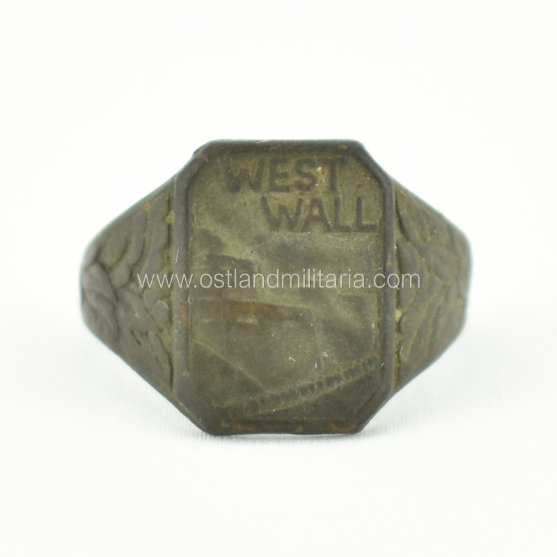Rare design Westwall ring Germany 1933–1945