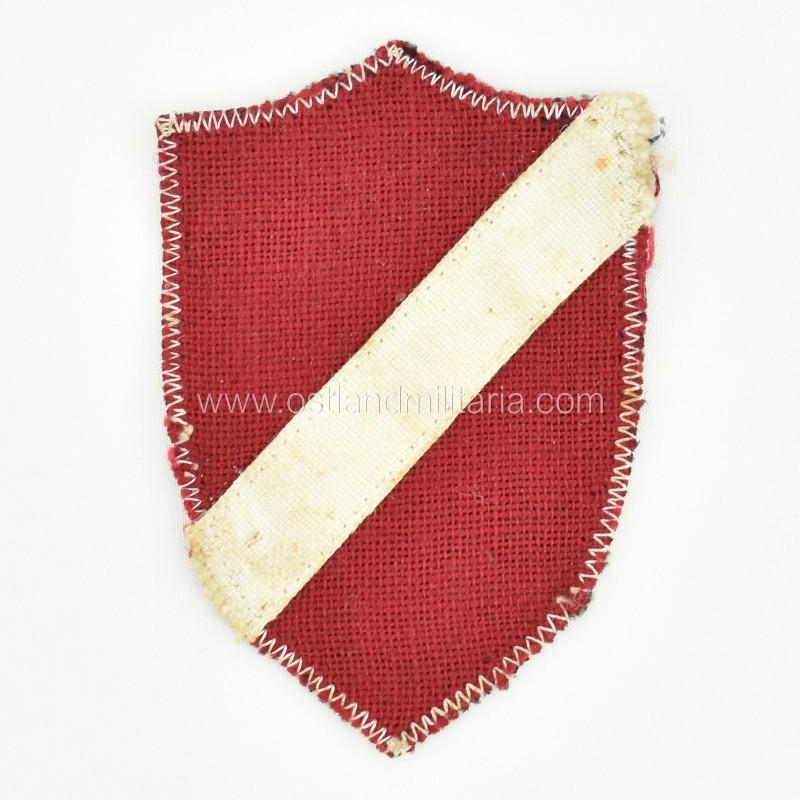 Early type Latvian volunteer sleeve shield Germany 1933–1945