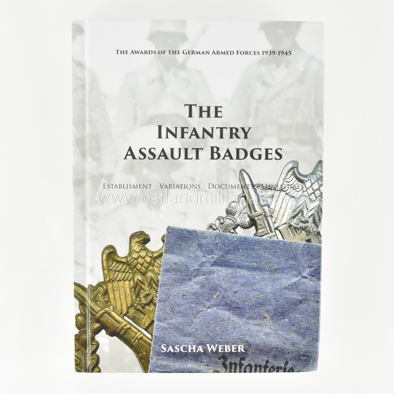 S. Weber. The Infantry Assault Badges New items
