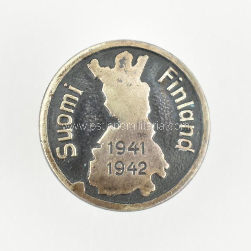 Suomi Finland 1941-1942 atminimo ženklelis Vokietija 1933–1945 m.