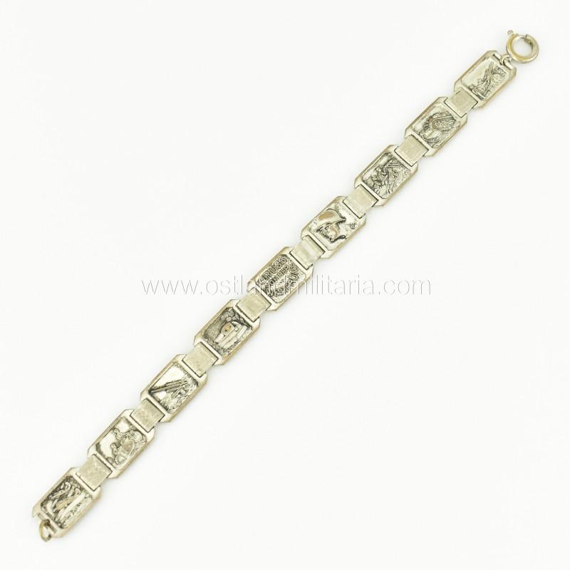 """Bracelet """"GRUSS VON DER WESTFRONT"""" Germany 1933–1945"""