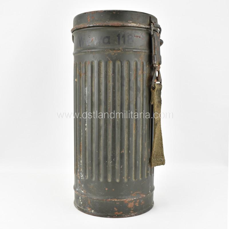 Gasmask canister frn43, named Germany 1933–1945