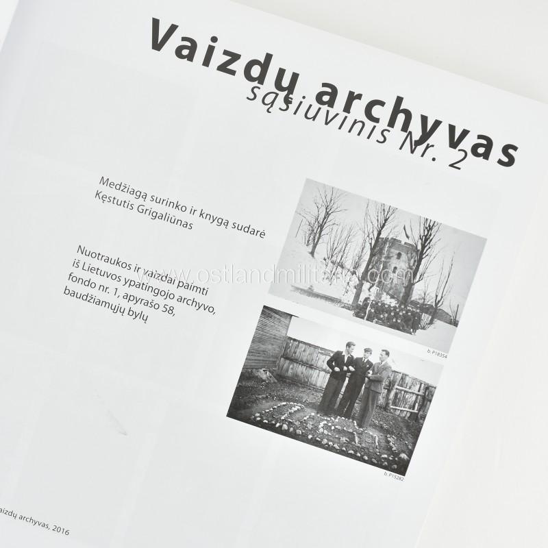 Vaizdų archyvas, sąsiuvinys Nr. 1+2 Books