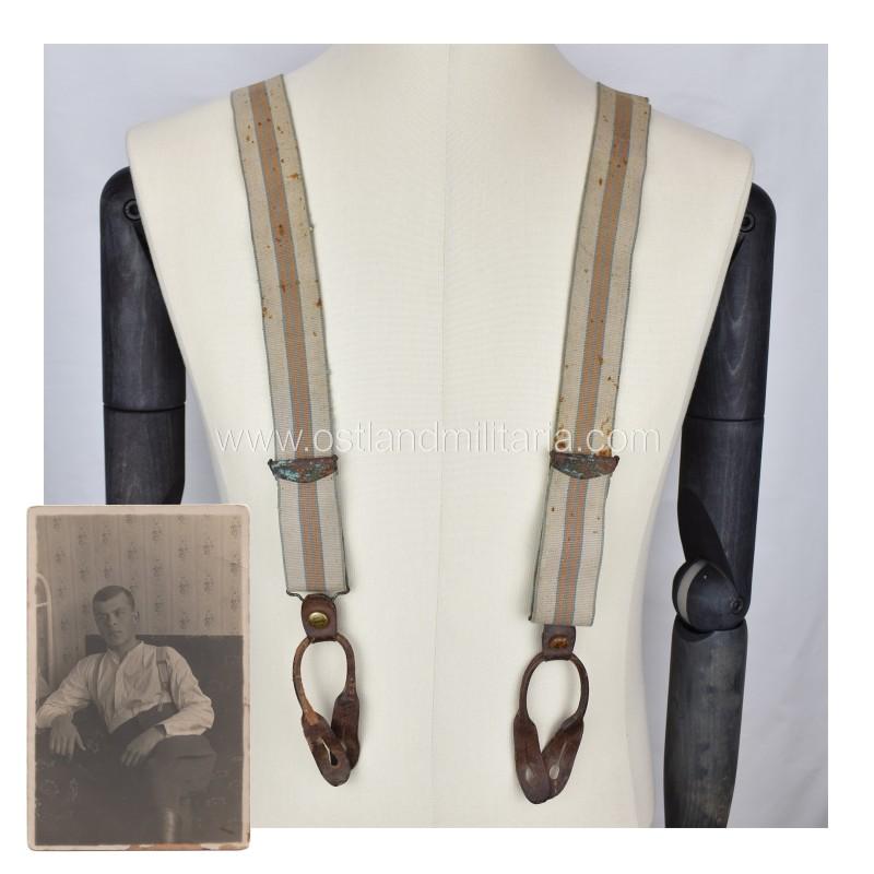 "Suspenders ""Lietuva"" + photo, Interwar Lithuania Lithuania"