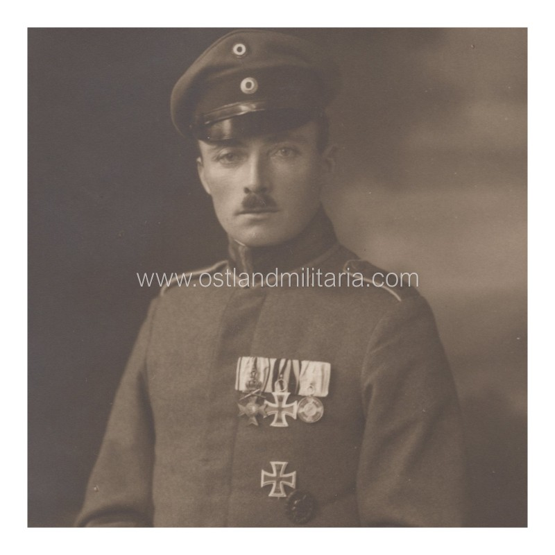 Photo of Imperial German Army officer Germany
