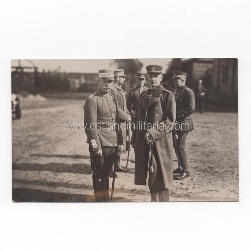 Generolo S. Žukausko nuotrauka su plk. P. Jackevičiumi Lietuva