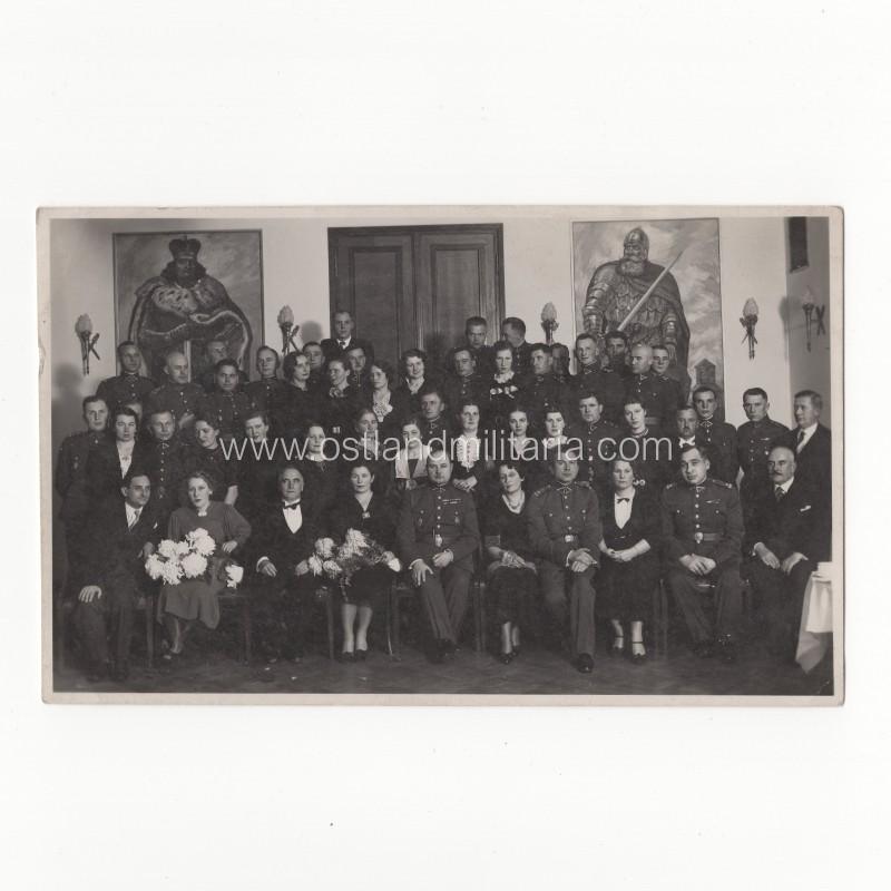 Kariuomenės štabo Karo topografijos skyriaus karininkų ir civilių tarnautojų nuotrauka Lietuva
